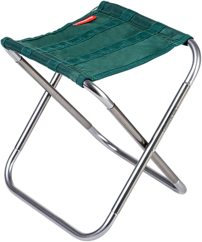 Ultralight Aluminum Stool Folding Chair Stool Folding Chair -BBQ, Camping, Fishing, Traveling, Hiking, Garden, Beach Terrace