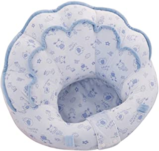 Flyinghedwig Baby Seat Sofa Cartoon Soft Plush Infant Support Seat Portable Baby Armchair Learning Sit Chair for 3-10 Months Baby Random Pattern nbsp   Blue
