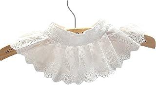 Casual Decorative False Shirt Collar Sweater Dress Collar...