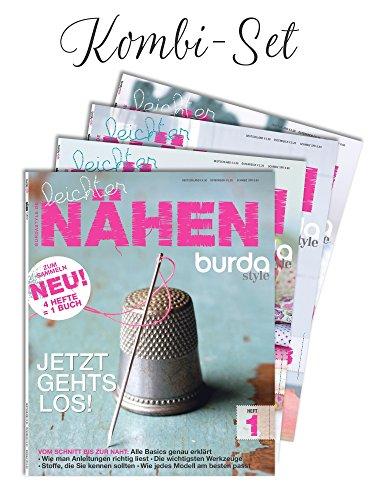 Kombi-Set: Burda style Leichter Nähen 1 bis 4 burda style