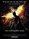 BATMAN THE DARK KNIGHT RISES Affiche Cinéma Originale (Format 160x120 cm pliée)