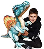 Peluches Dinosaurios Gigantes de diseño Realista (Azul)