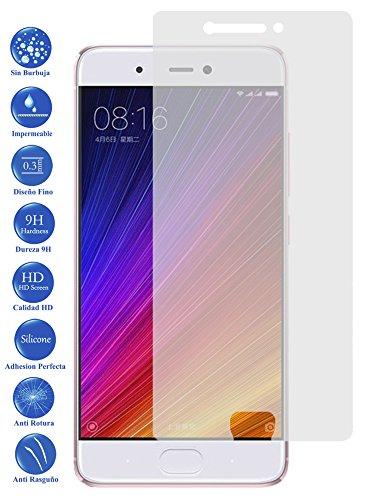 Todotumovil Protector de Pantalla Xiaomi Redmi MI5S de Cristal Templado Vidrio 9H para movil