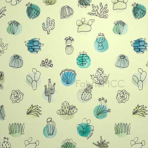 daoyiqi Juego de adhesivos decorativos para azulejos, diseño floral, diseño floral, color turquesa, 10,4 x 10,4 cm, vinilo impermeable para decoración del hogar