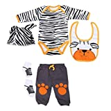 Zerodis Neugeborene Puppe Kleidung Set 50-55cm/20-22in Simulation Infant Doll Kleidung Set Cute...