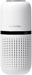 Air Purifier 空气净化器 小型 除臭 静音设计 降噪节能 健康 负离子杀菌 经久耐用 有效净化 家用 车载 (White)