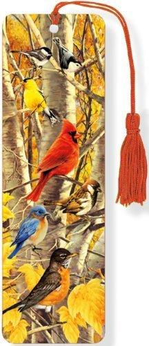 Autumn Birds 3-D Bookmark (Lenticular Bookmark) by Peter Pauper Press (2013) Gebundene Ausgabe