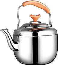 FACAZ Czajnik do herbaty ze stali nierdzewnej o dużej pojemności ze stali nierdzewnej polerowany czajniczek z odpornym na ...