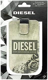 Diesel Whisper 智能手机通用印花 PU M 玫瑰保护套