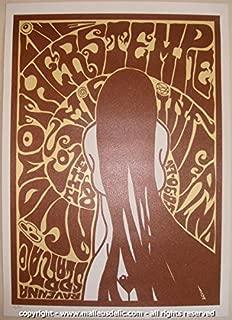 2005 Acid Mothers Temple Silkscreen Concert Poster by Malleus