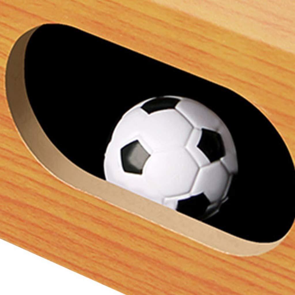 YCZM Mini futbolín de Mesa Juegos de Mesa para Mano Ocasional del fútbol en Salas de Juego, centros comerciales, Bares, Noches de Familia: Amazon.es: Hogar