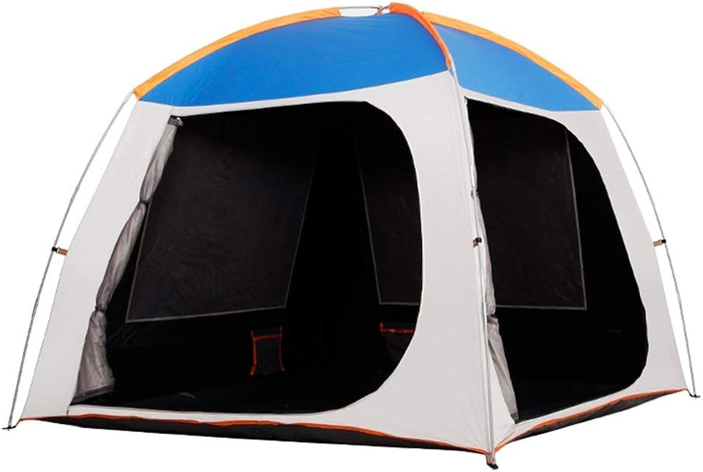 DWJ-Z Draussen Draussen Draussen Zelt, 3-4 Leute Wasserdicht Sonnencreme Camping Familie Selbstfahrer-Tour Picknick B07QBZBV3G  Wir haben von unseren Kunden Lob erhalten. 06adbf