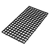 AROYEL - 2 divisores para acuario (2 unidades), color negro