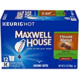 Maxwell House Decaf House Blend Medium Roast K-Cup Coffee Pods (12 Pods)