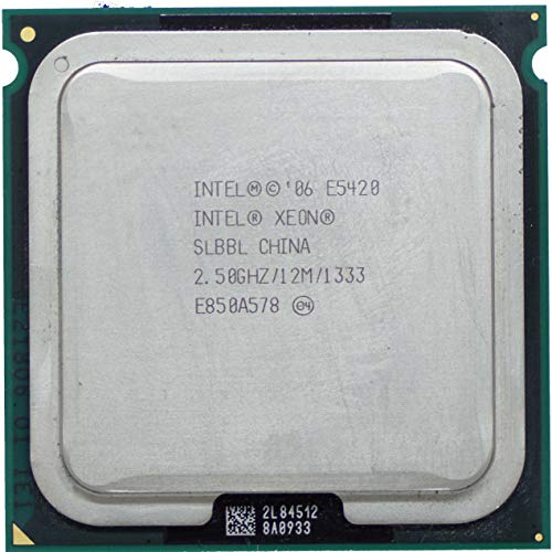Intel CPU Xeon E5420 2,5 GHz, 12 MB, Fsb 1333Mhz LGA771 Quad Core SLBBL.