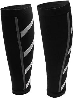 ユニセックス ランニング 陸上 競技 圧縮 スリーブ ふくらはぎ 脚 シンス プリント 7色選べる