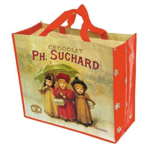 Editions Clouet 17008 - Cabas Chocolat Suchard - Trois Enfants