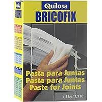 Quilosa T088112 Bricofix Pasta Juntas, Amarilla, 0