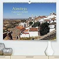 Alentejo - A alegria na saudade (Premium, hochwertiger DIN A2 Wandkalender 2022, Kunstdruck in Hochglanz): Alentejo, Ruhe, Huegel, Natur und weisse Doerfer (Monatskalender, 14 Seiten )