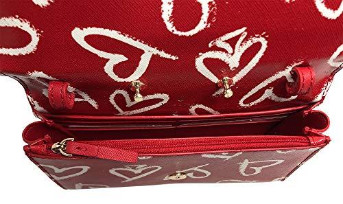 Kate Spade New York Laurel Leder Clutch, Rot