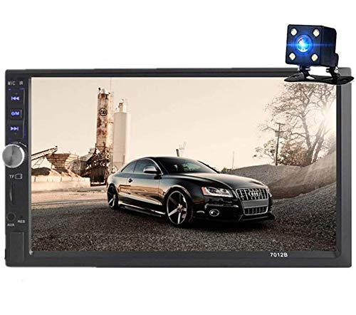 GOFORJUMP Autoradio 2 DIN 7 `` Pollici con 4 LED 7012B Lettore Bluetooth Autoradio Car Audio Stereo Mirror Link Radio