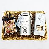 Charcutería Rotura de té canasta de regalo - Un gran regalo para el amante del té, cumpleaños, las gracias, buena mejora