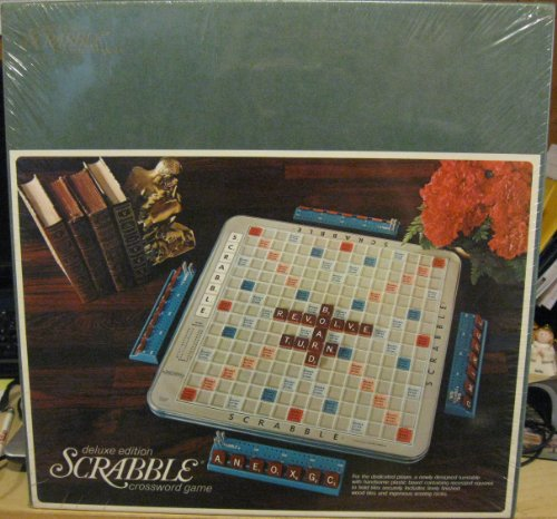 SCRABBLE - Deluxe Turntable Edition w/ Hardwood Tiles (1972)