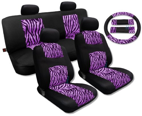 zebra car seat covers for toyota - 5