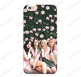 Inspired by Blackpink Lisa Rose Jisoo Jennie Phone Case Compatible With Iphone 7 XR 6s Plus 6 X 8 9 Cases XS Max Clear Iphones Cases TPU- Official- Uno- Clothing- 32907636619