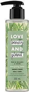 Sabonete Líquido Love Beauty And Planet Energizing Detox 300ml, Love Beauty & Planet