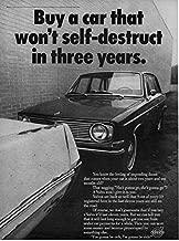 Magazine Print Ad: 1969 Volvo 144 4-Door Sedan,