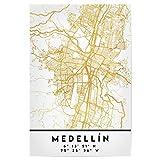 artboxONE Poster 60x40 cm Städte Medellin Colombia Street