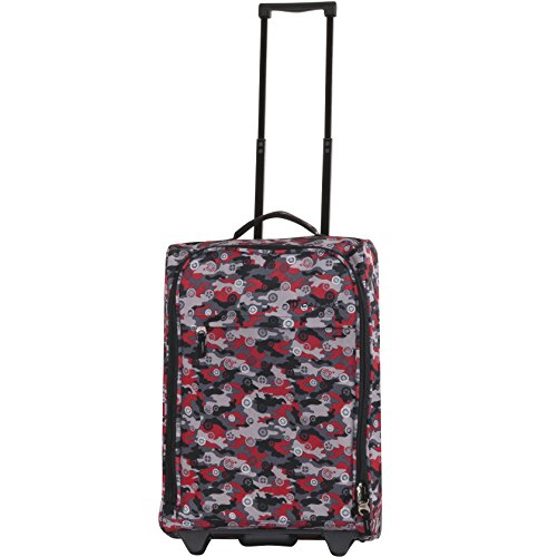 CALPAK Zorro 20-inch Washable Rolling Carry-On Upright Suitcase