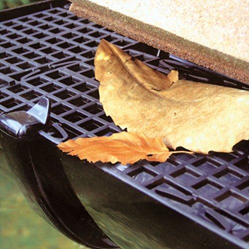 Parkland® 5m Gutter Leaf Guard Protection System Mesh Roof Guttering Cover to Stop Leaf Moss & Debris Cloggs Blocks