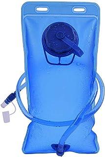 Bolsa de Hidratación, Bolsa de Agua Portátil de 2 litros para Mochila Running, Vejiga de Hidratación para Correr Ciclismo ...