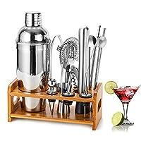 hb life set cocktail shaker, metallo, silver, 1
