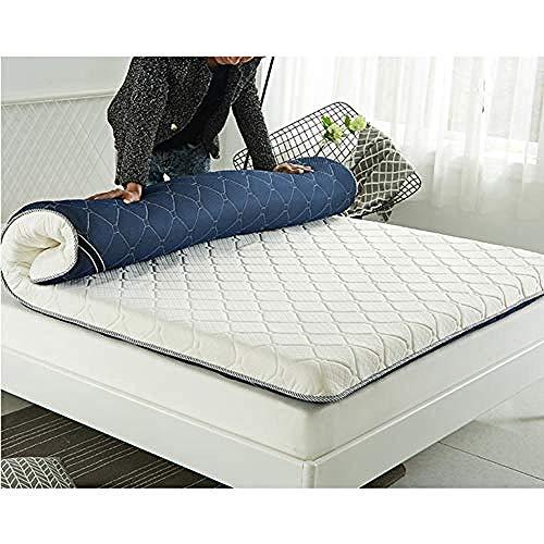 WENZHEN Cama Colchon,Colchón de futón de Piso japonés Lted Plegable Roll Up Colchón Espesor Tatami Mat Dormir-si_120x190 cm (47x75 Pulgadas)