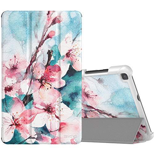 TiMOVO Folio Case for Samsung Galaxy Tab A 8.0 2019 (T290/T295),Premium Slim Folding PU Leather Stand Cover Case for Galaxy Tab A 8.0 2019 Tablet,Not Fit Galaxy Tab A 8.0 2017/2018 - Peach Blossom