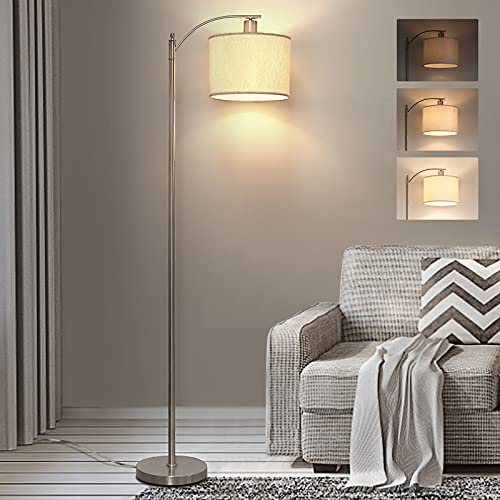 LED Floor Lamp with Dimmer, Fully Dimmable Standing Lamp...