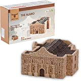 Wise Elk Fort Alamo Ceramic Building Set with 510 pcs. & Educational STEM Toy for Kids from 5 Years, Great Gift for Boys and Girls. Eco-Friendly Rebuildable Toy for DIY Lovers.