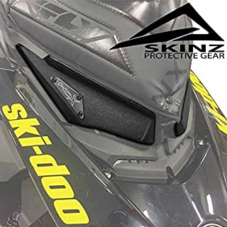 RPM Skinz Headlight Delete Kit Ski-Doo 2017-2019 850 MX-Z Renegade Summit SDHK425-BK