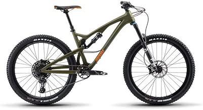 Release 4C Carbon Full Suspension Mountain Bike, Silver, 19/LG