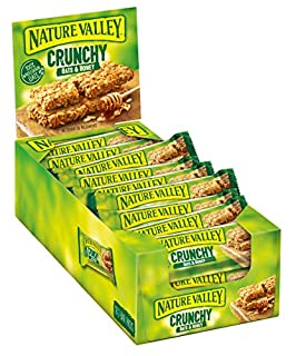 Nature Valley Crunchy Oats & Honey Cereal Bars 42g (Pack of 18) (B0077PQGLS) | Amazon price tracker / tracking, Amazon price history charts, Amazon price watches, Amazon price drop alerts