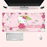 Mopoq Dibujos Animados Hello Kitty Rosa Ratón Almohadilla Super Impermeable Libro para niña Desktop Cojín informático (Color : 10)