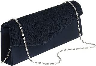 IPOTCH Women's Clutch Bag Ladies Wedding Bridal Prom Party Purse Evening Handbag