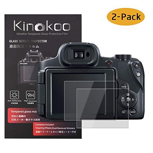 kinokoo Película de Vidrio Templado para Canon PowerShot SX60 HS/SX70 HS Crystal Clear...