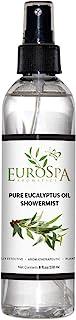 EuroSpa Aromatics Pure Eucalyptus Oil ShowerMist and Steam Room Spray, All-Natural Premium Aromatherapy Essential Oils - P...