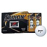 DUNLOP(ダンロップ) ゴルフボール SRIXON Z-STAR ゴルフボール 2019年モデル 1ダース(12個入り) ホワイト
