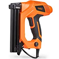 """Powerful 9A Electric Tacker creates strong fixings & fastenings - ideal for decorating & construction jobs Fires 18 gauge, 5.7mm (1/4"""") narrow crown staples (equivalent to type 90, No.90 Narrow Crown) in the following lengths: 15mm (9/16""""), 16mm (5/8..."""