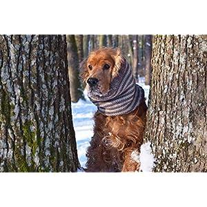 Hund Snood Hund gestrickter Schal Halswärmer Geschenk